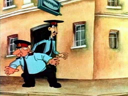 Обезьянки и грабители