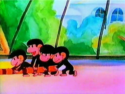 Обезьянки. Осторожно, обезьянки