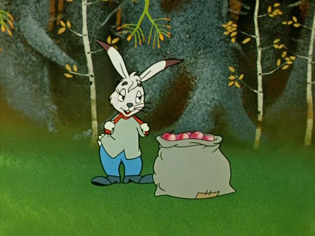 Бесплатно мультфильм мешок яблок