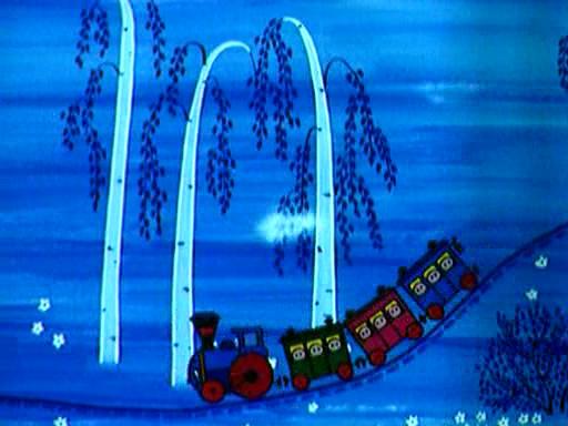 Мультфильм паровозик из ромашкова