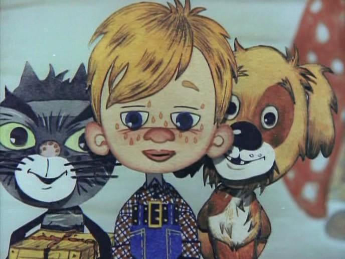 Дядя Фёдор, пёс и кот. 3. Мама и папа