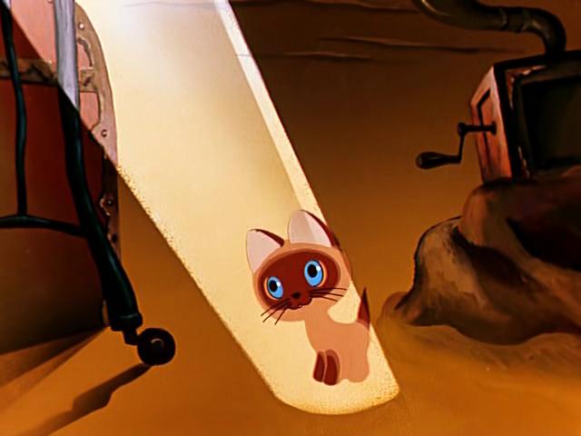 Котёнок по имени Гав 1 серия