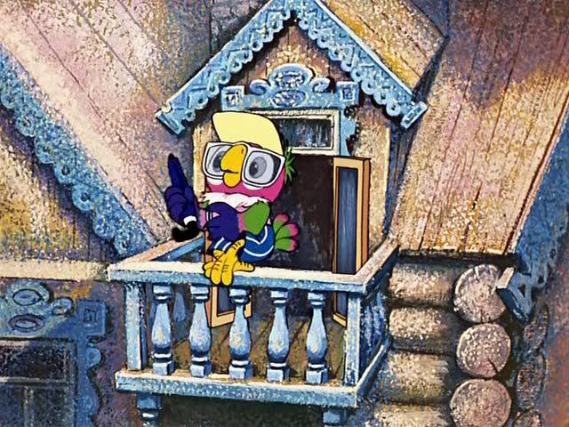 Возвращение блудного попугая 3 серия